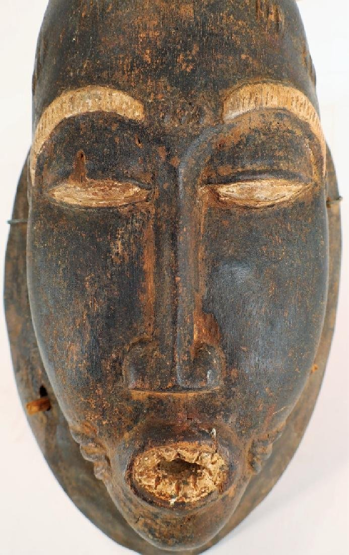 African Baule Mask, Ivory Coast, early 20th C. - 3