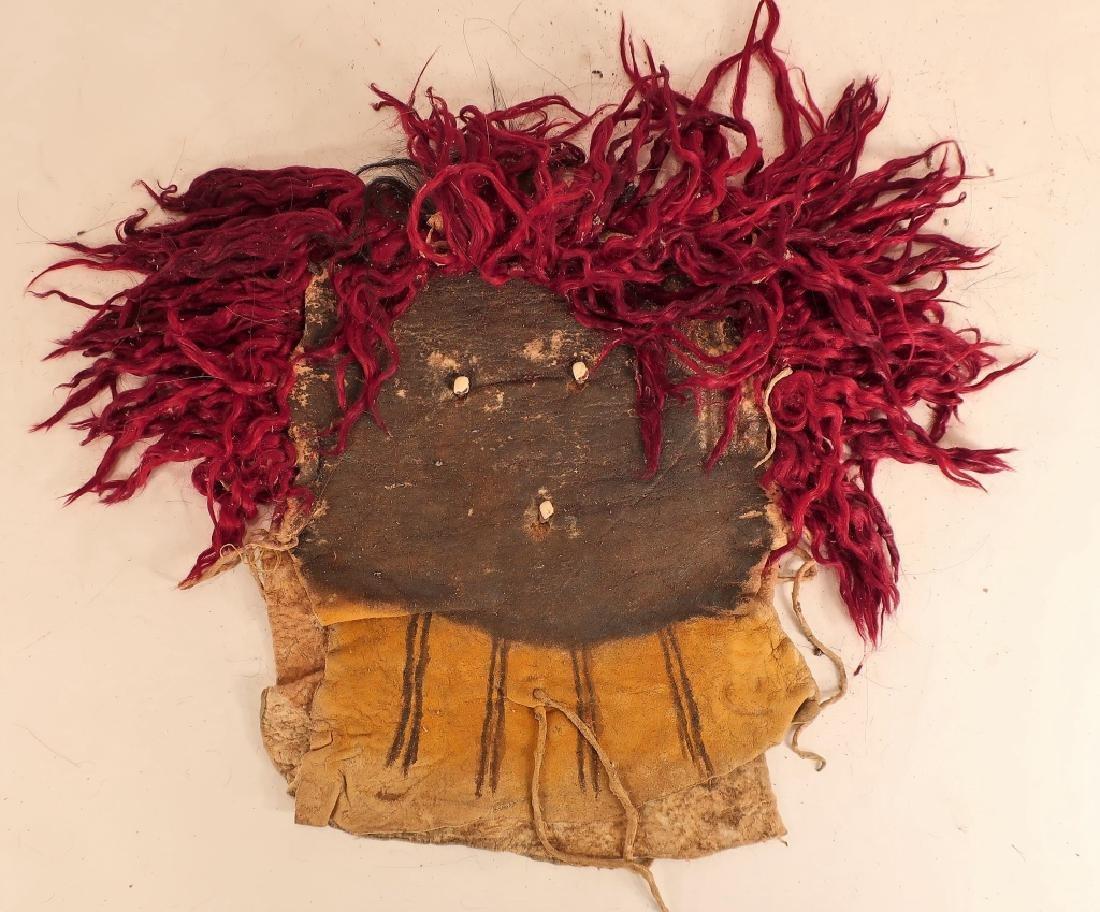 4 Navajo Yei Dance Masks, mid 20th C. - 2
