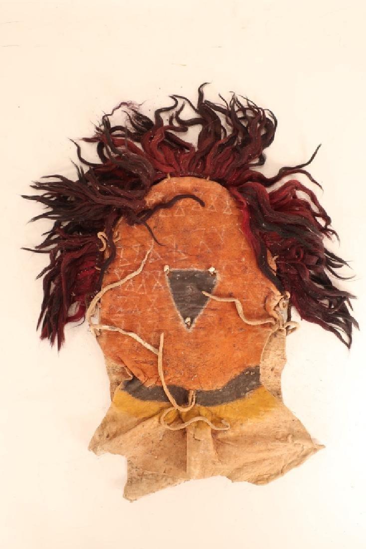 4 Navajo Yei Dance Masks, mid 20th C. - 3