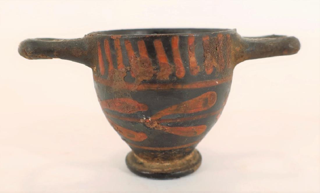 5 Ancient Blackware Vessels, Magna Graeca, 350 BC - 4