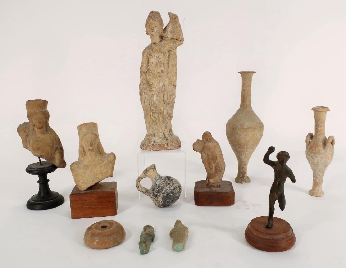 Group of Ancient Artifacts, from Greece and Rome