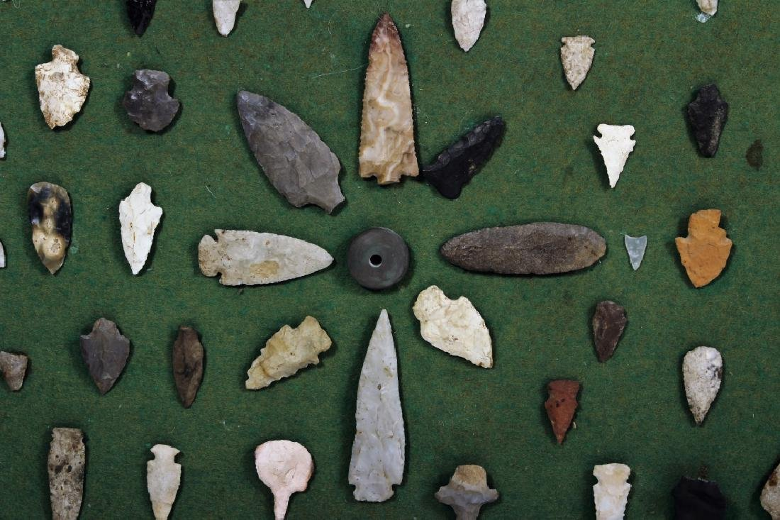 Large Collection: Native American Arrowheads/Tools - 10