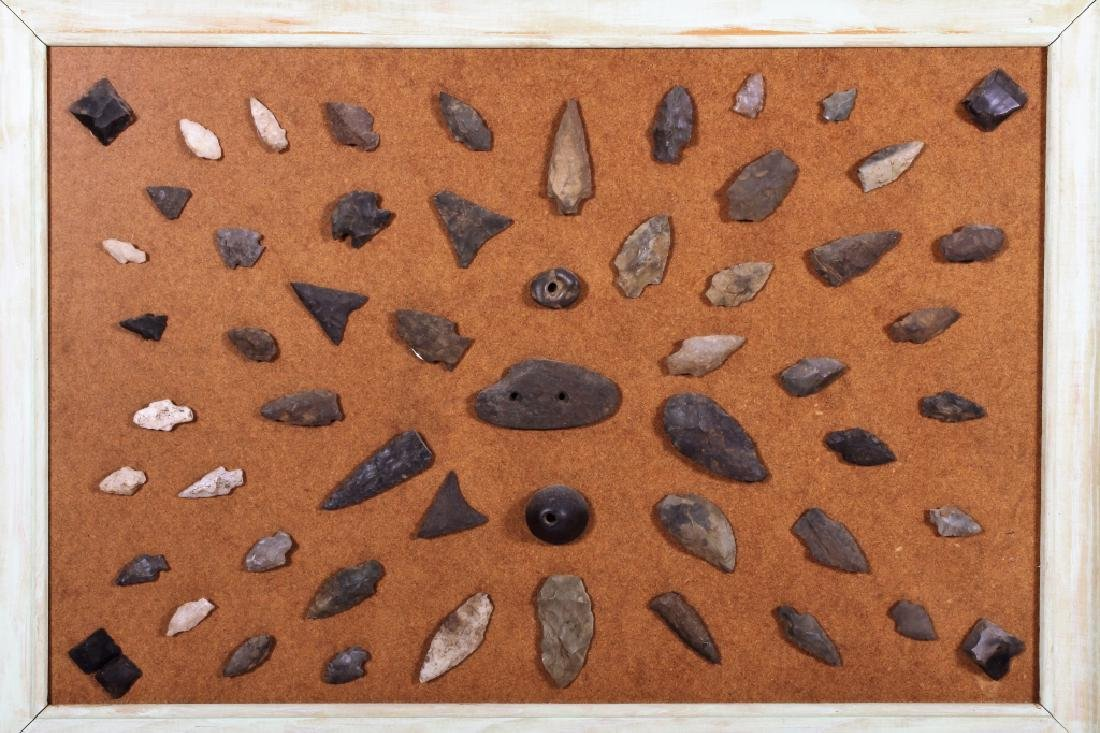 Large Collection: Native American Arrowheads/Tools - 2