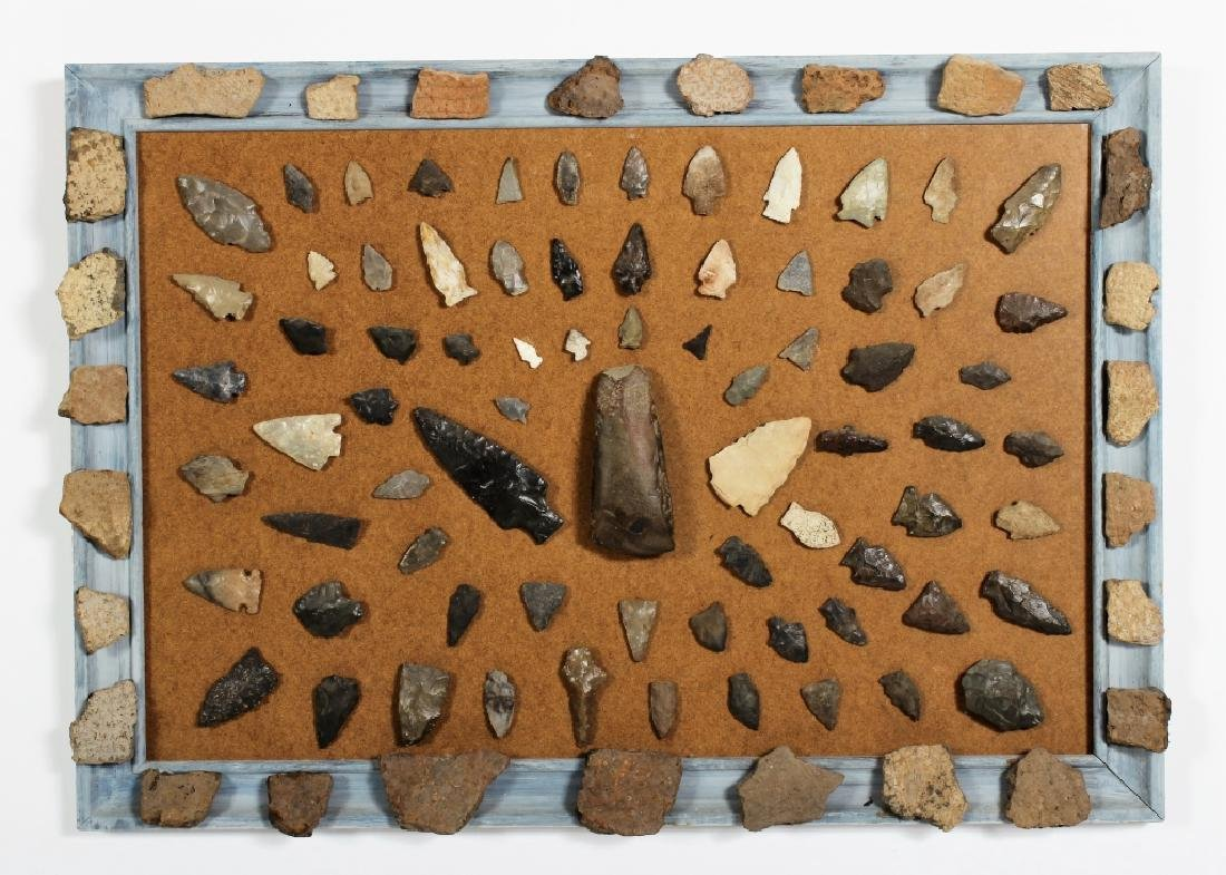 Large Collection: Native American Arrowheads/Tools - 3