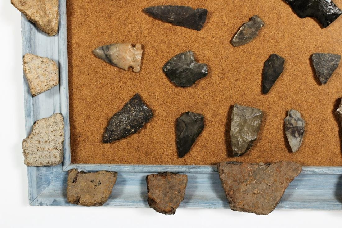 Large Collection: Native American Arrowheads/Tools - 6