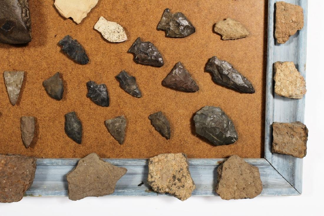 Large Collection: Native American Arrowheads/Tools - 8