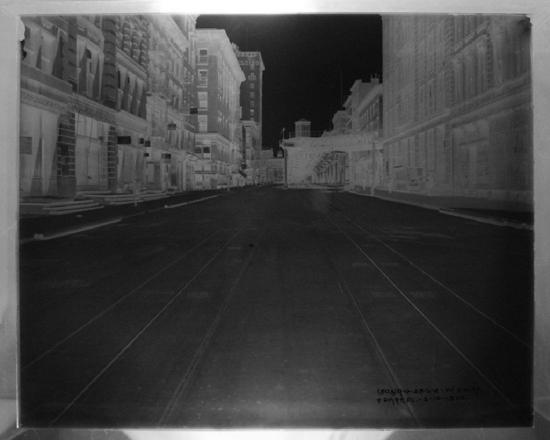Lot of 7 Glass Negatives of NYC 1914-1916 - 3