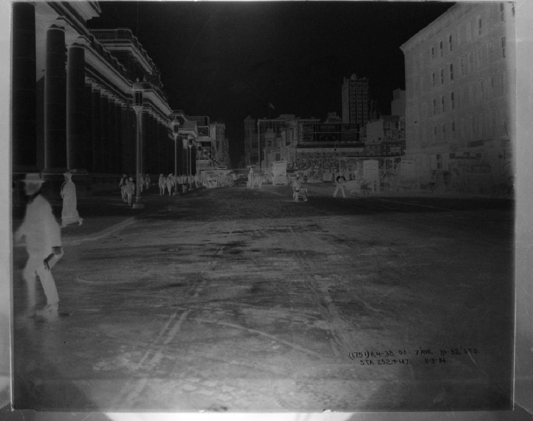 Lot of 7 Glass Negatives of NYC 1914-1916 - 4