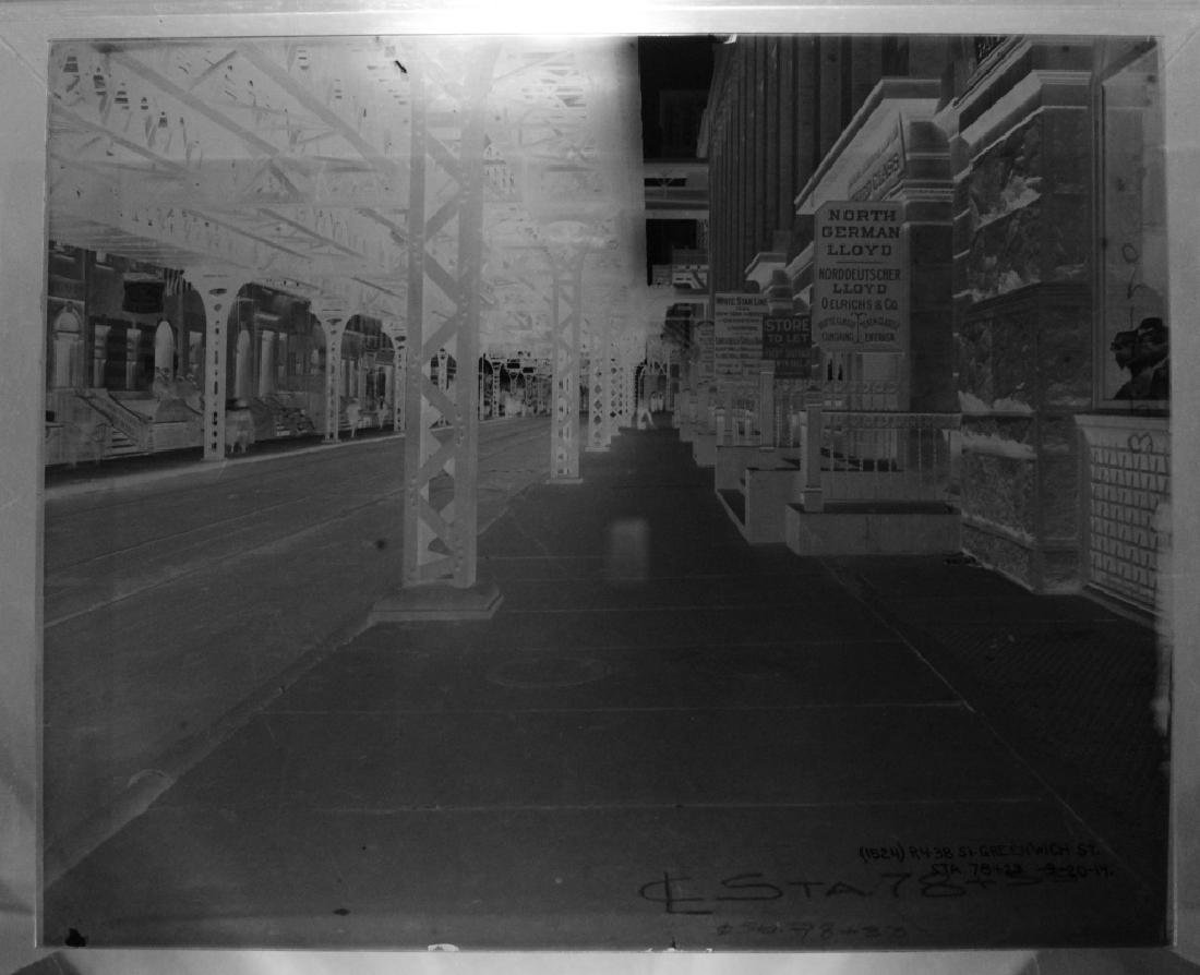 Lot of 7 Glass Negatives of NYC 1914-1916 - 5