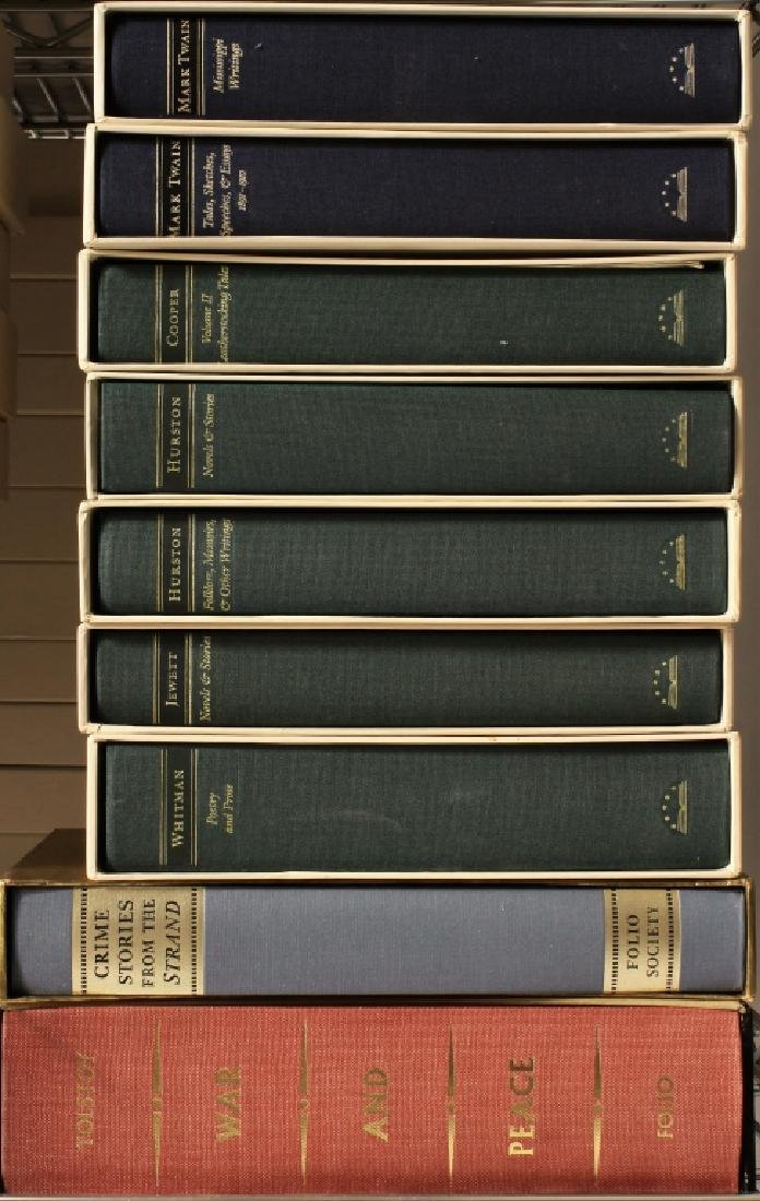 "Large Collection ""Library of America"" Boxed Sets - 6"