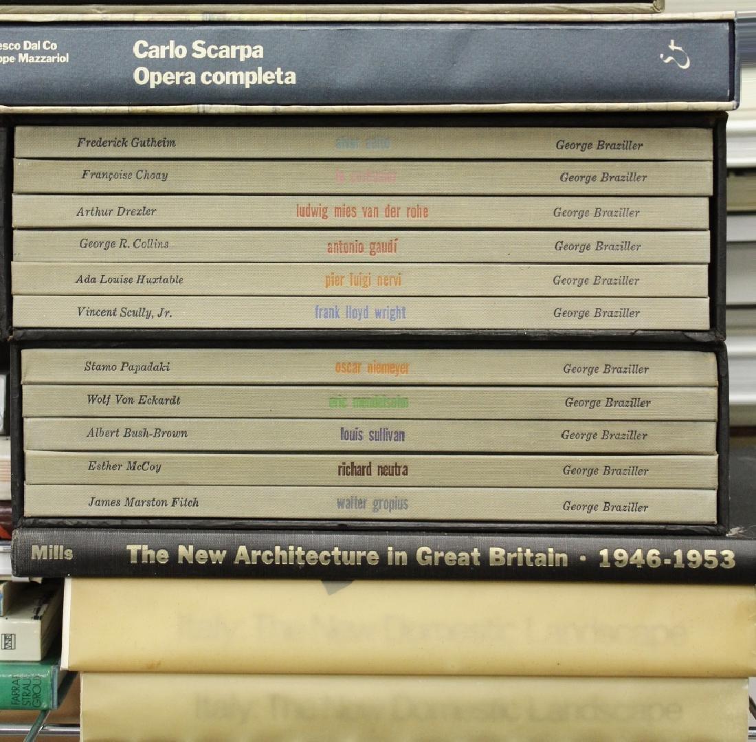 220 Vols Architecture/Design: Wegner, Le Corbusier - 10