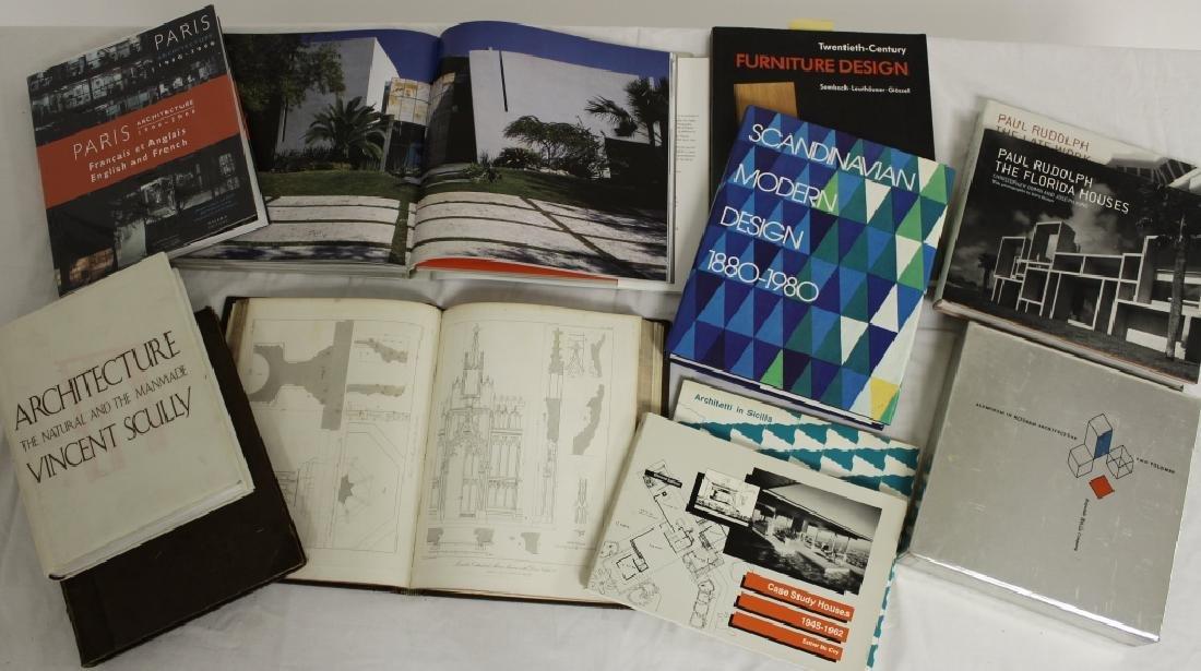 220 Vols Architecture/Design: Wegner, Le Corbusier