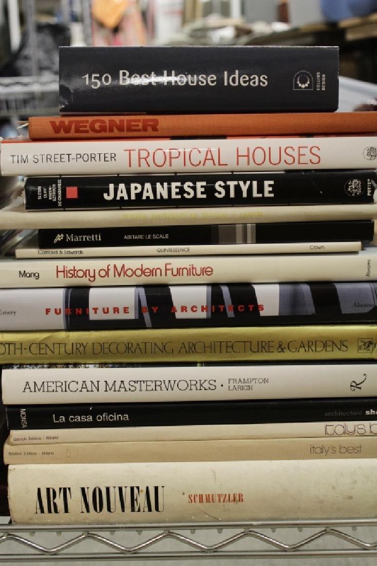 220 Vols Architecture/Design: Wegner, Le Corbusier - 7
