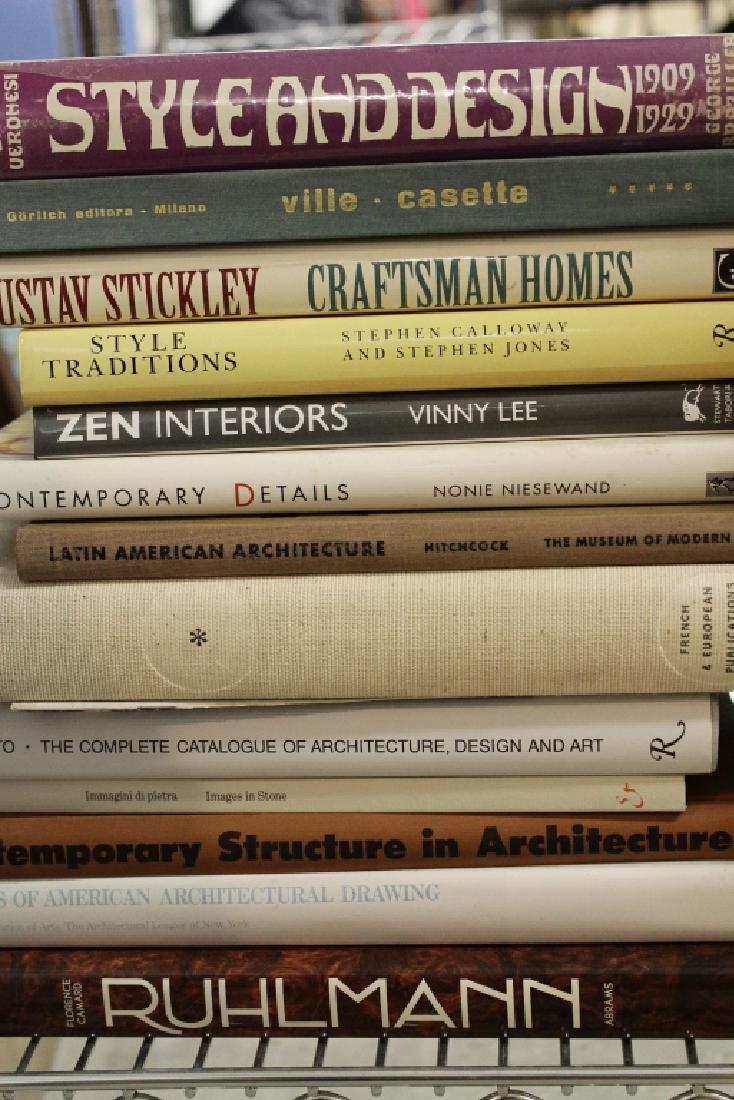 220 Vols Architecture/Design: Wegner, Le Corbusier - 8