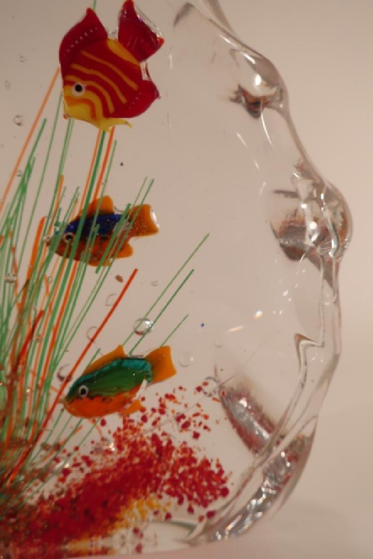 Murano Glass Aquarium Fish Sculpture - 5