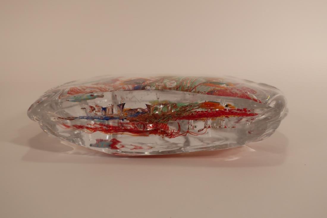 Murano Glass Aquarium Fish Sculpture - 6
