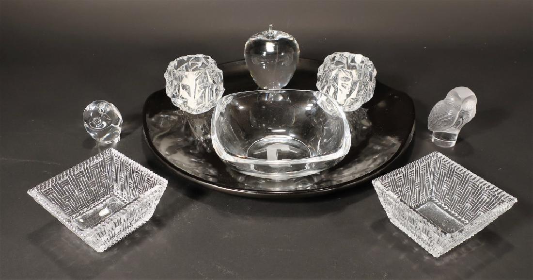 Tiffany, Lalique, Steuben Art Glass/Ceramic