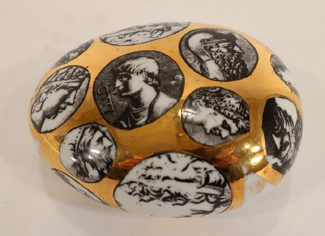 Fornasetti Porcelain Paperweight