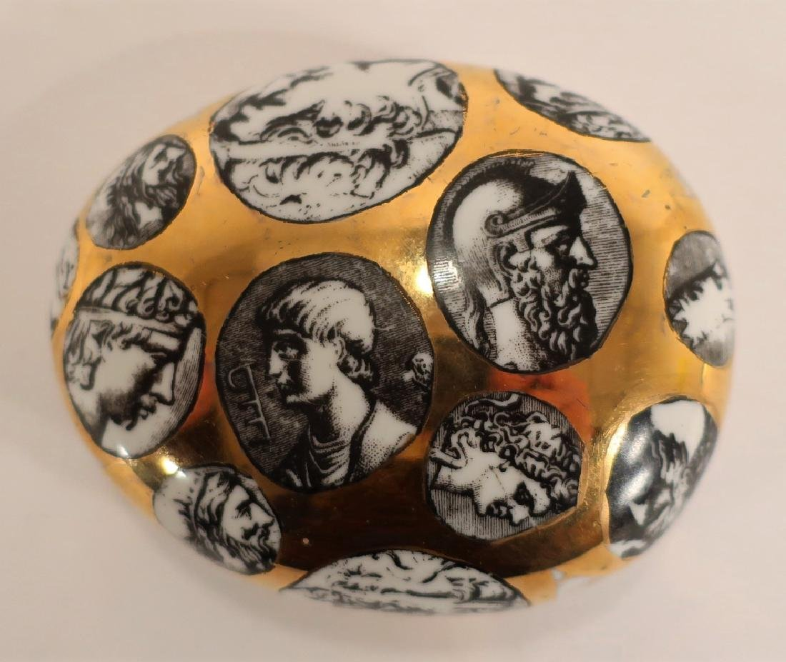 Fornasetti Porcelain Paperweight - 2