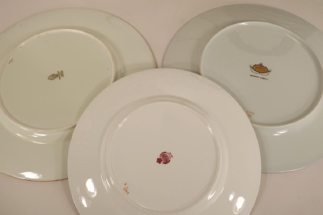 12 Cobalt and gilt Wedgwood plates, etc. - 4