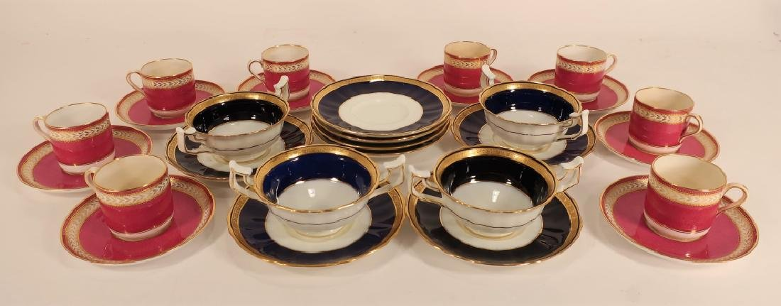 12 Cobalt and gilt Wedgwood plates, etc. - 5