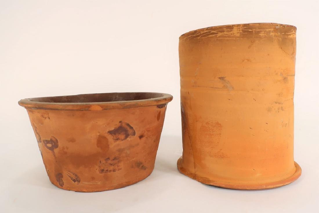 Hervey Brooks, Goshen Ct., Pudding Pot, c. 1840
