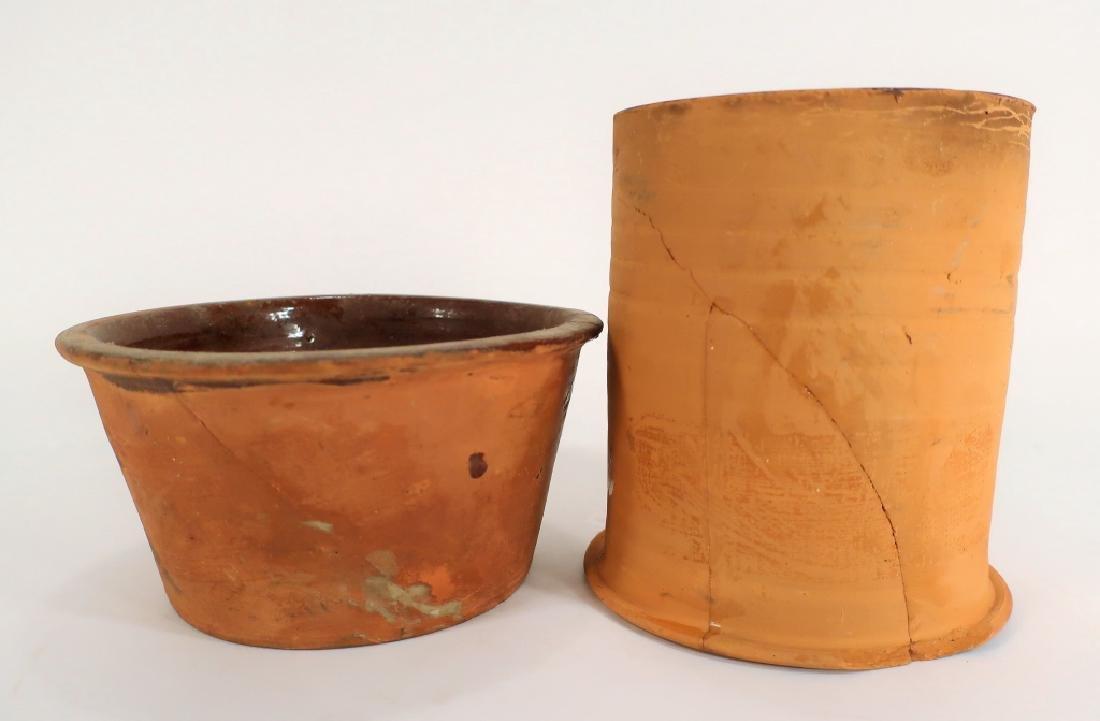 Hervey Brooks, Goshen Ct., Pudding Pot, c. 1840 - 2