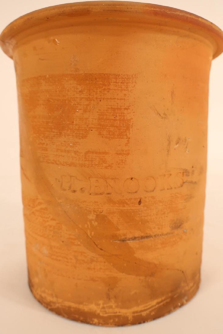 Hervey Brooks, Goshen Ct., Pudding Pot, c. 1840 - 5