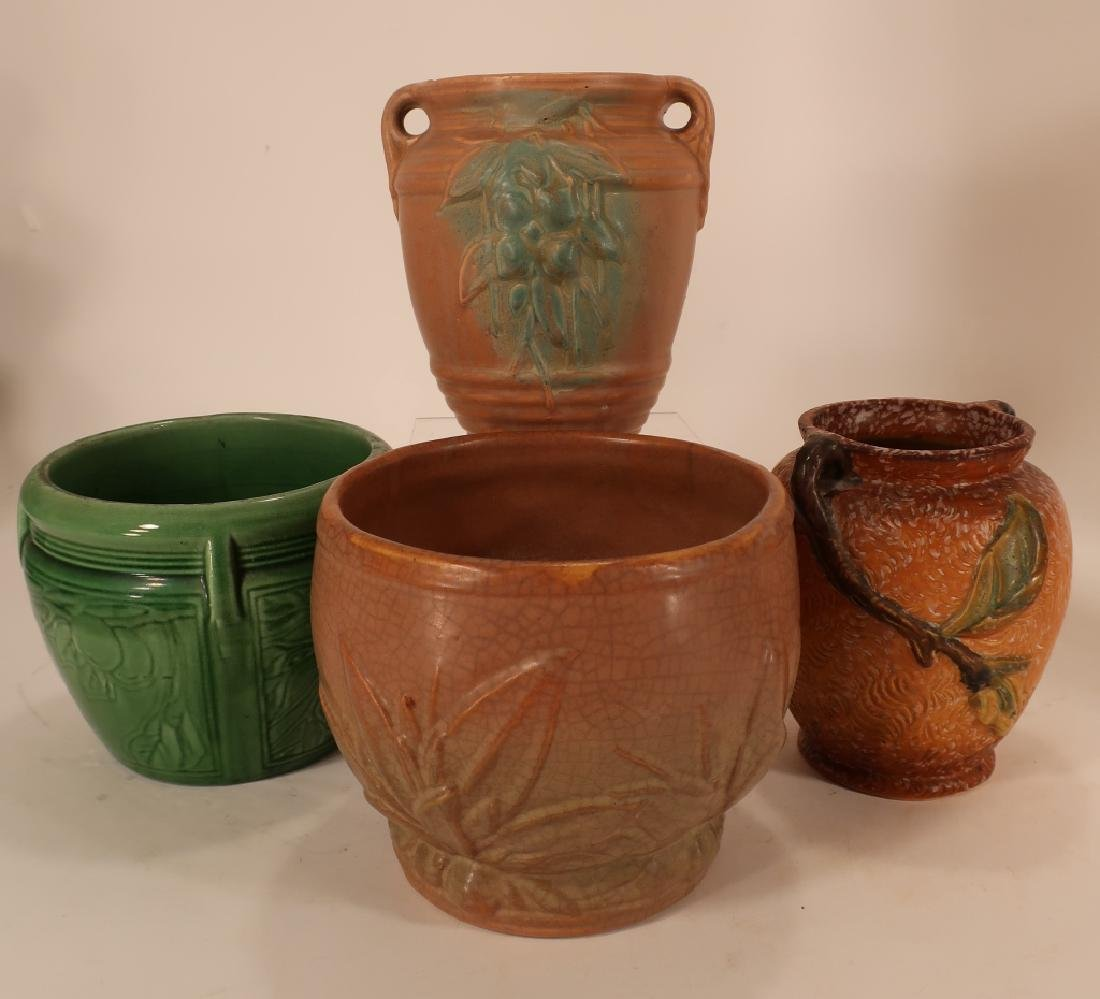 8 Pieces of  Art Pottery Weller,etc. - 6