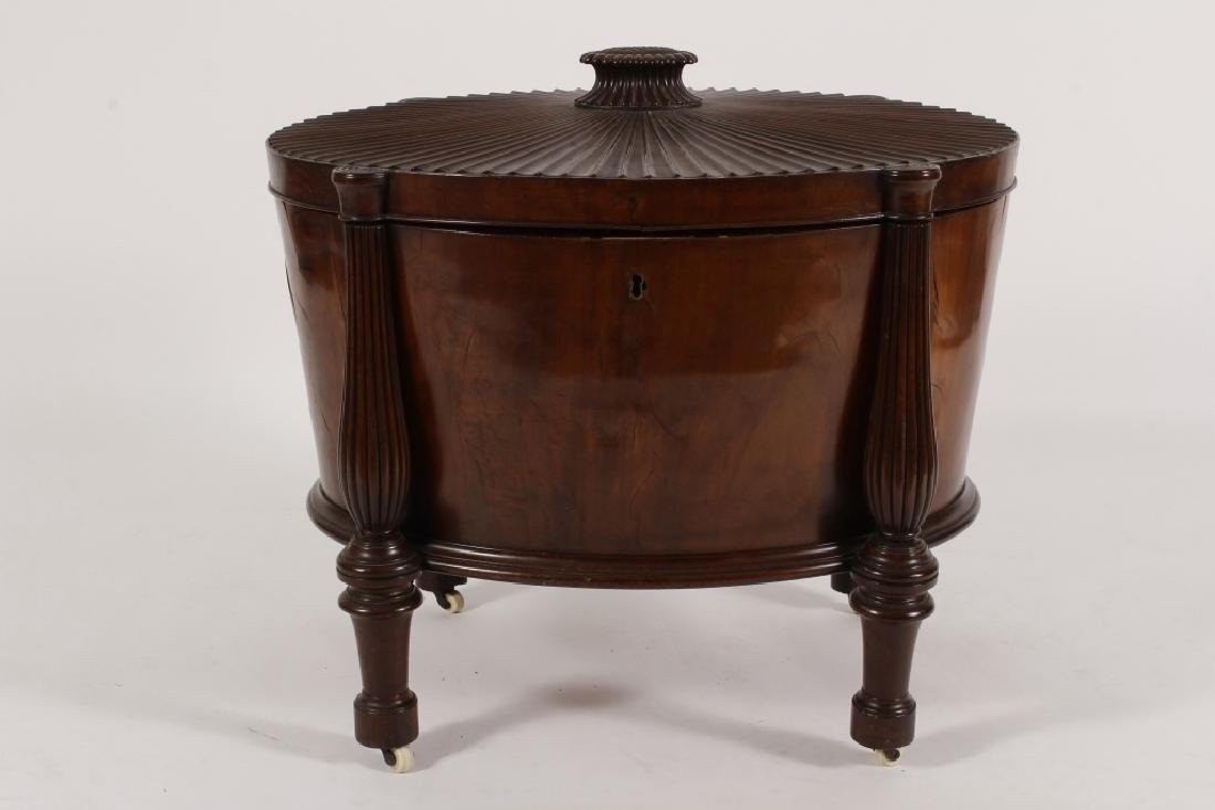William IV Oval Cellarette, Early 19th C.