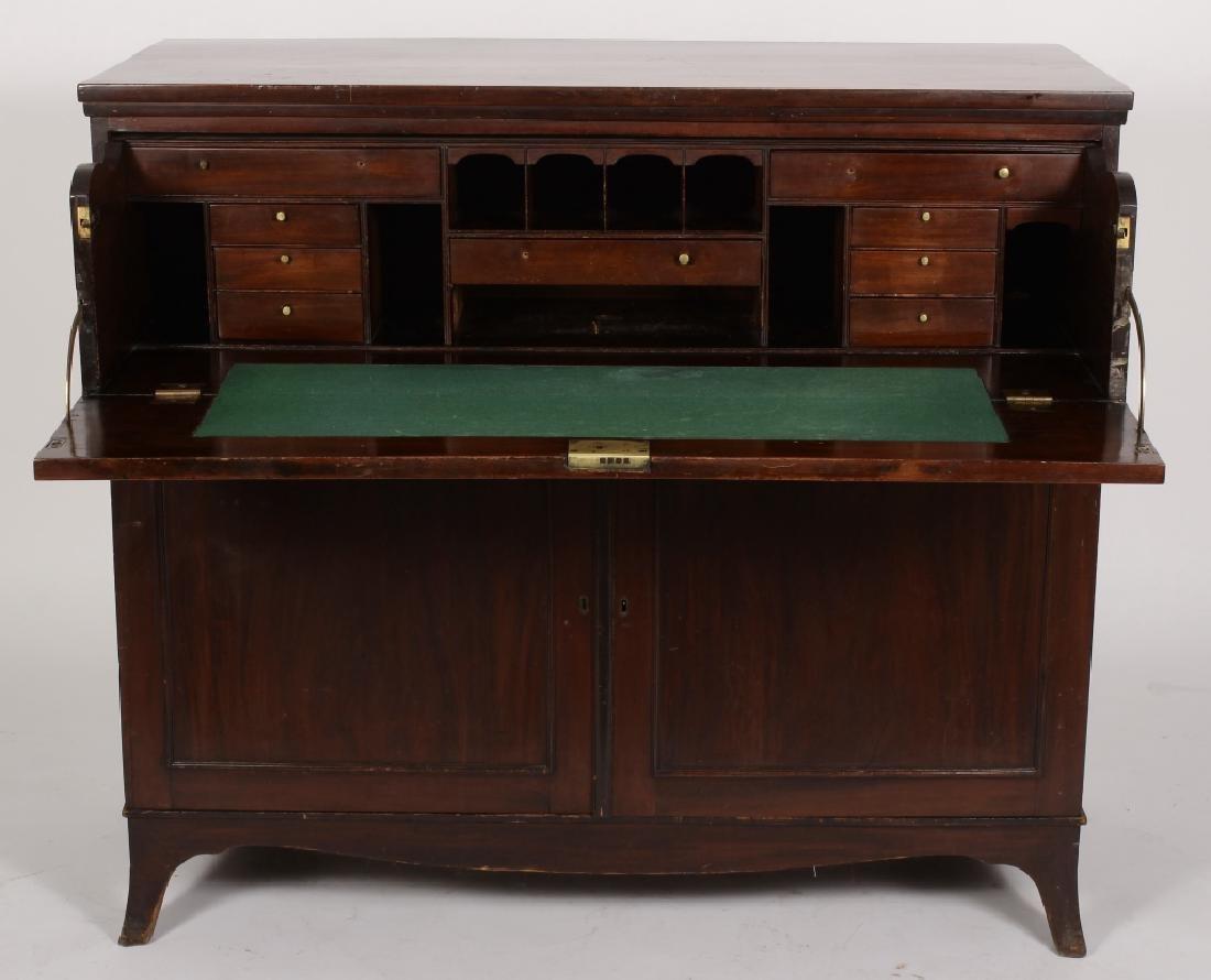 Victorian Mahogany Butler's Desk, L. 19th-E. 20th - 2