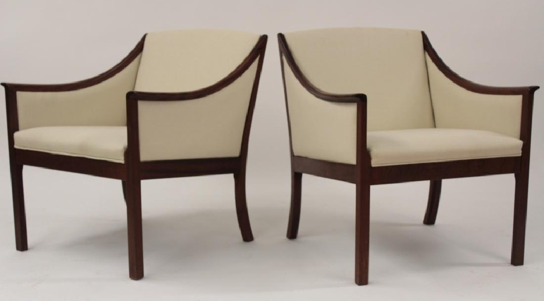 Pair of Ole Wanscher Armchairs for A.J. Iverson - 2