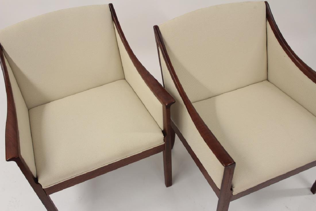 Pair of Ole Wanscher Armchairs for A.J. Iverson - 3