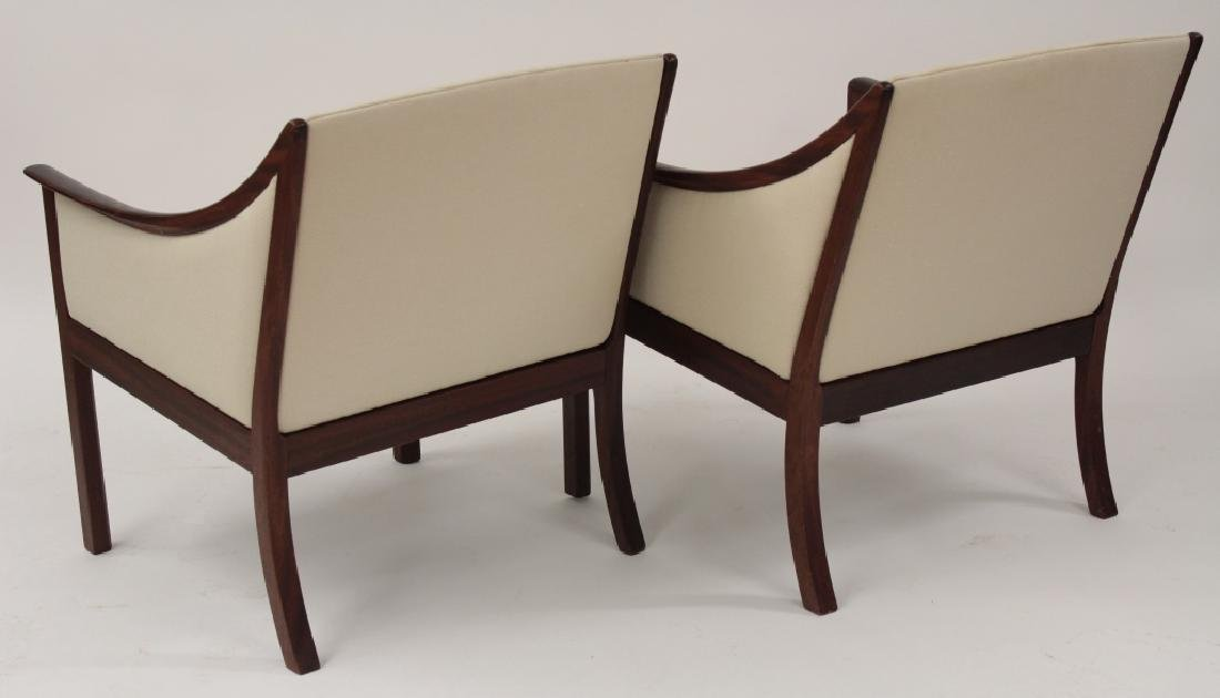 Pair of Ole Wanscher Armchairs for A.J. Iverson - 5