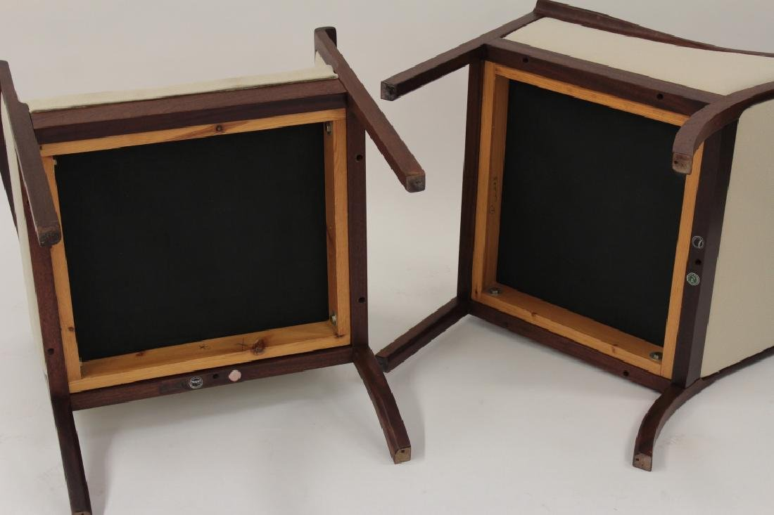 Pair of Ole Wanscher Armchairs for A.J. Iverson - 6