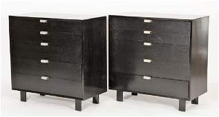 Pair of Chests by George Nelson for Herman Miller