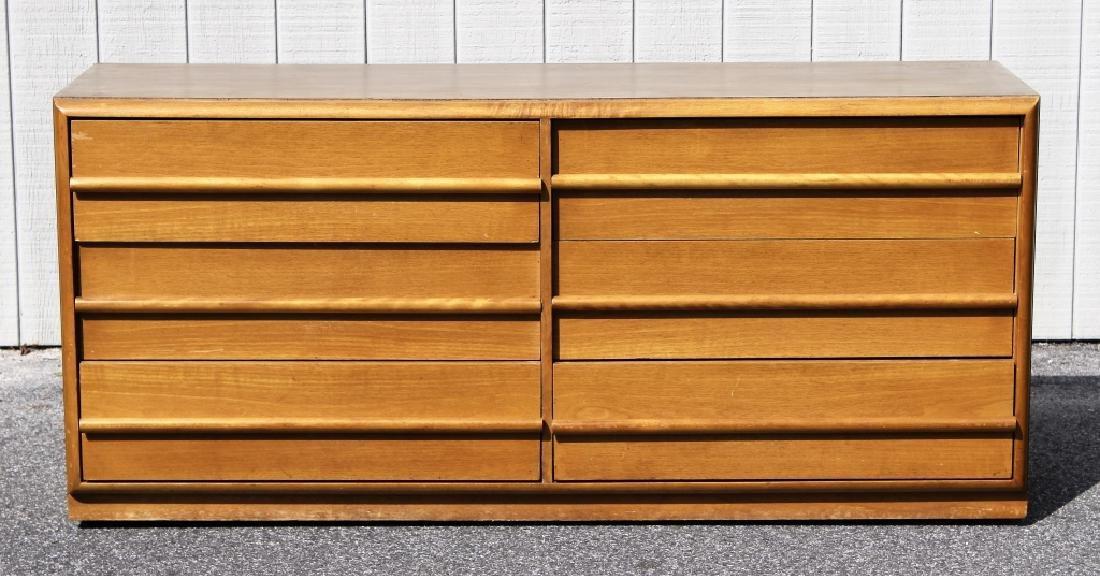 T.H. Robsjohn Gibbings/ Widdicomb Walnut Dresser