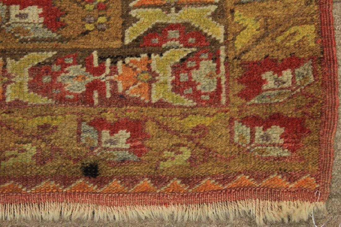 Tribal Ushak Wool Rug - 3