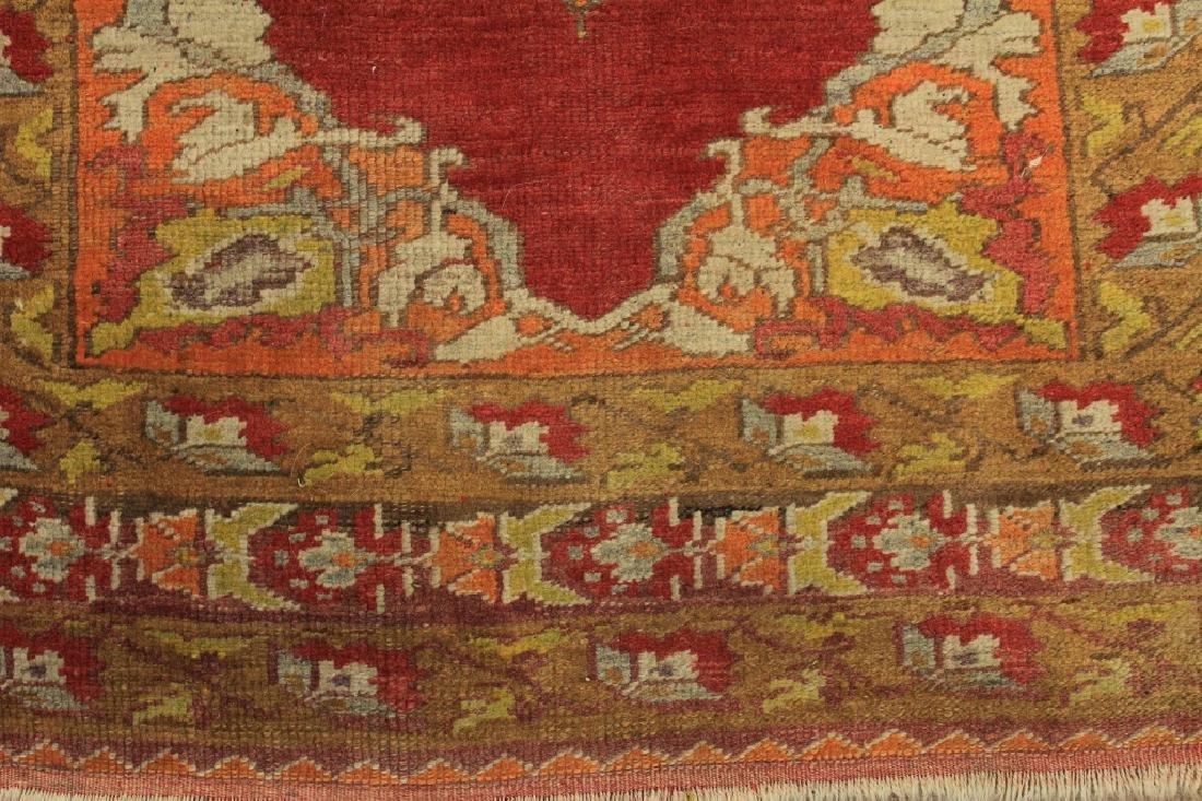 Tribal Ushak Wool Rug - 4