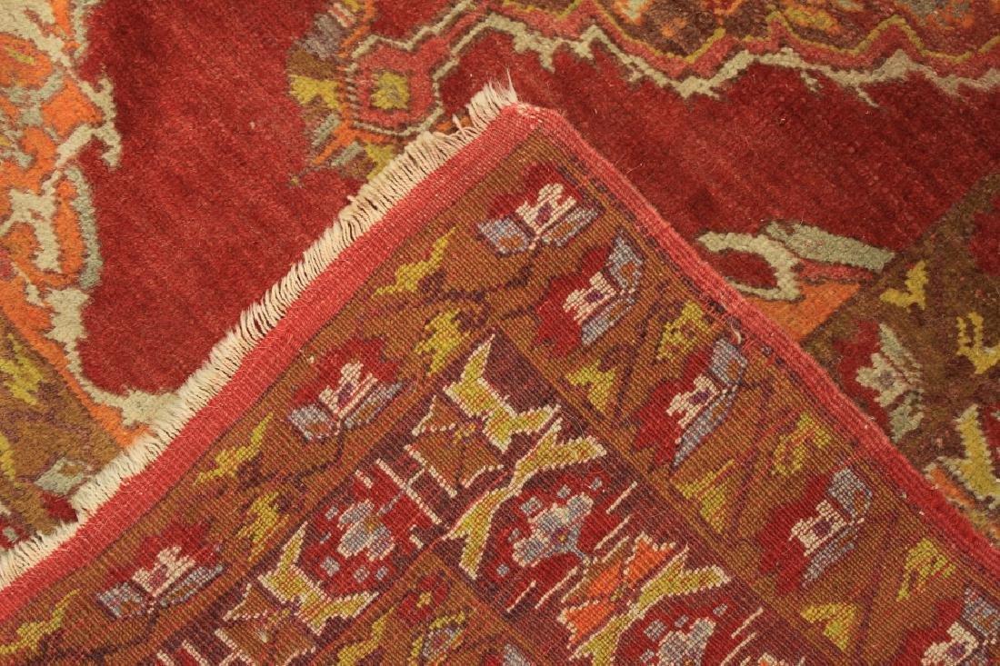 Tribal Ushak Wool Rug - 6