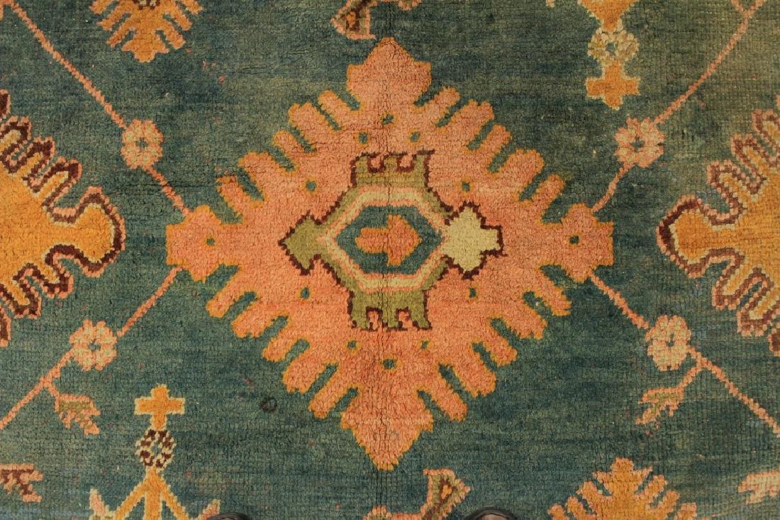 Caucasian Tribal Hand Knot Wool Carpet