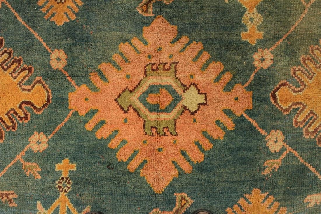 Caucasian Tribal Hand Knot Wool Carpet