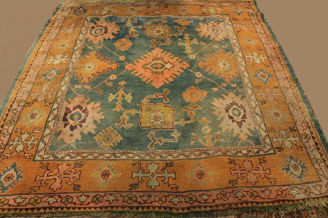 Caucasian Tribal Hand Knot Wool Carpet - 2