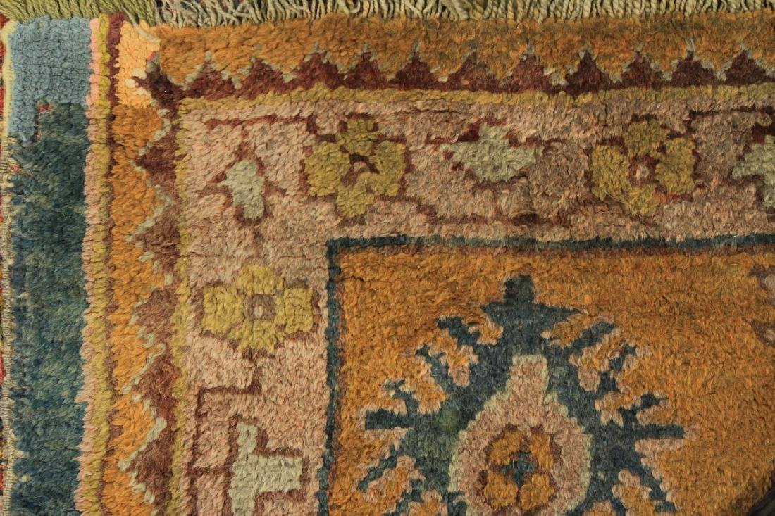 Caucasian Tribal Hand Knot Wool Carpet - 3