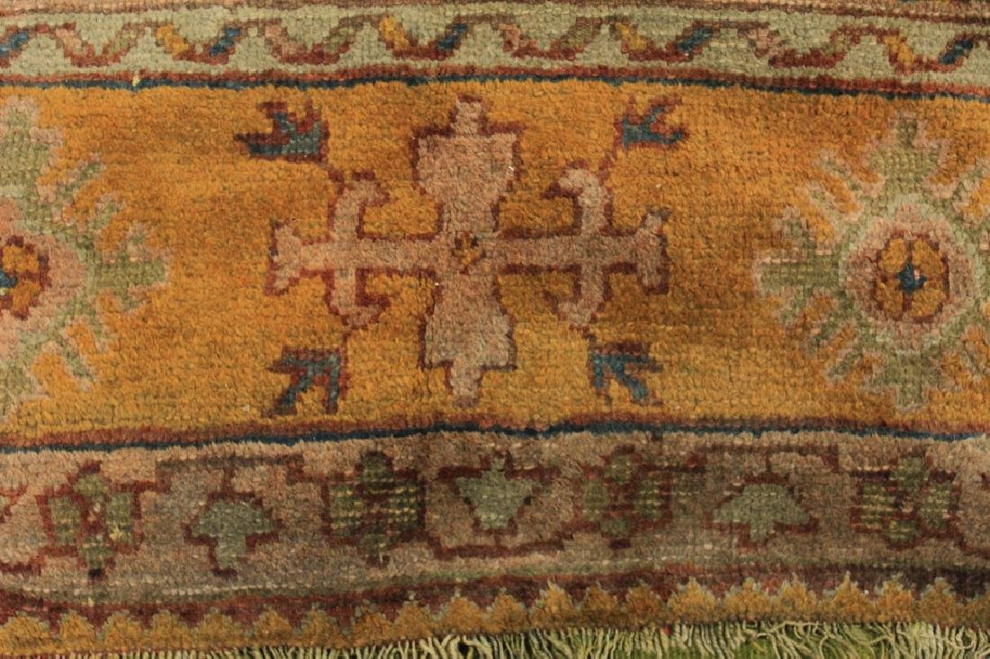 Caucasian Tribal Hand Knot Wool Carpet - 4