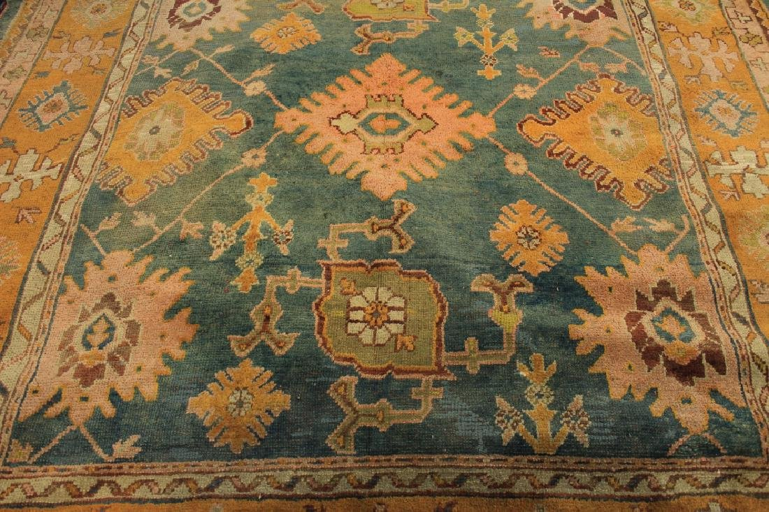 Caucasian Tribal Hand Knot Wool Carpet - 5