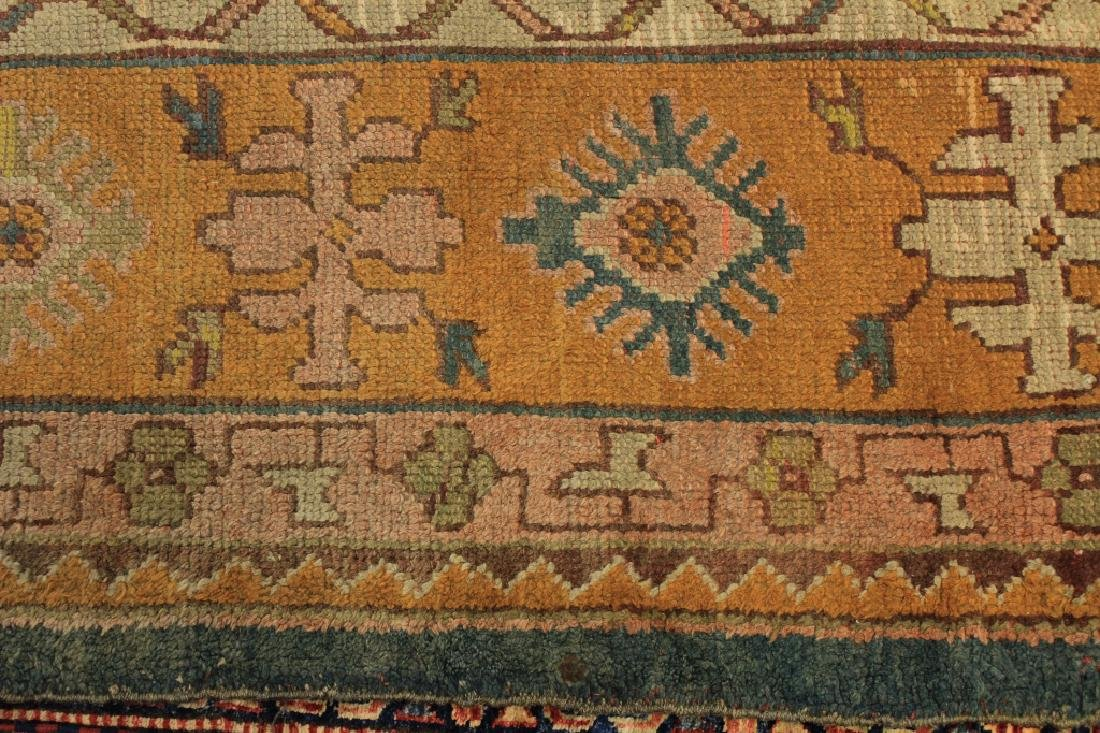 Caucasian Tribal Hand Knot Wool Carpet - 6