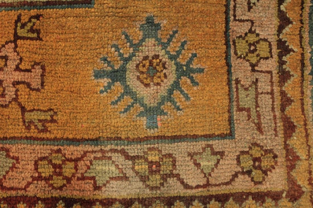 Caucasian Tribal Hand Knot Wool Carpet - 8