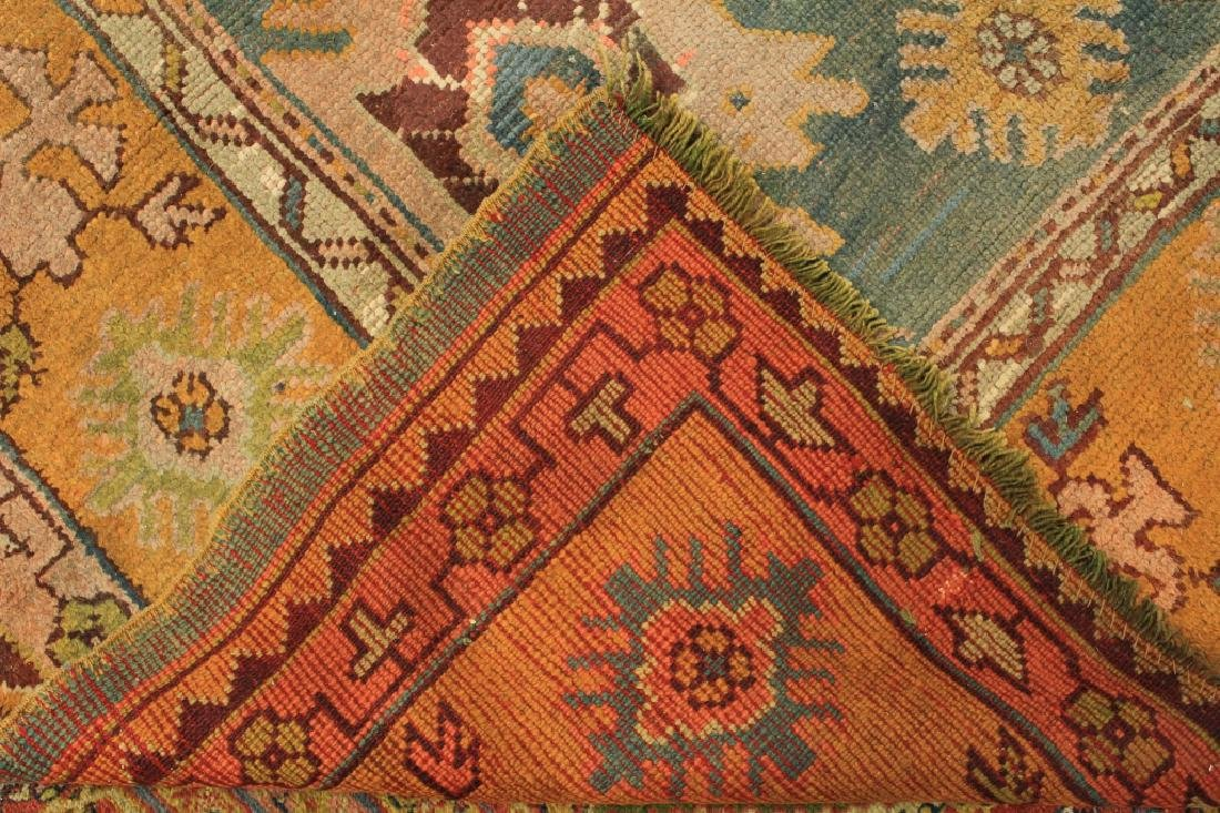 Caucasian Tribal Hand Knot Wool Carpet - 9