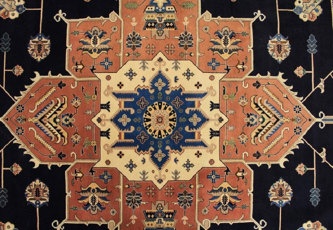 Iranian Wool Cut Pile Carpet, 20th C.
